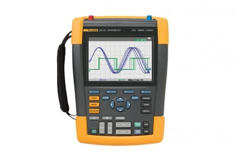 Fluke 190-104 ScopeMeter® Test Tool front view