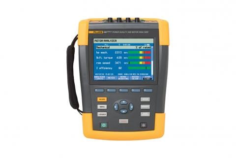 Fluke 438-II Power Quality Analyzer & Motor Analyzer