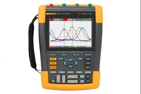 Capturing the elusive waveform anomalies with the ScopeMeter® 190C Series
