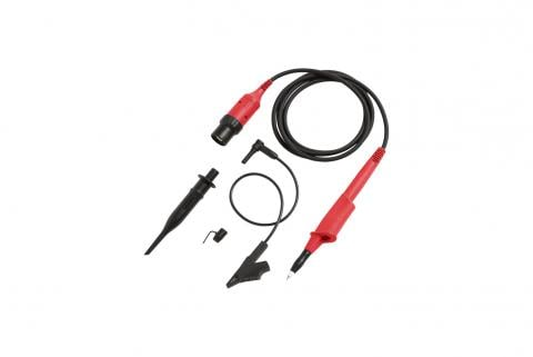 Fluke VPS410-R ScopeMeter Voltage Probe-set, red, 10:1, 300 MHz, 1000V CAT III, 600V CAT IV