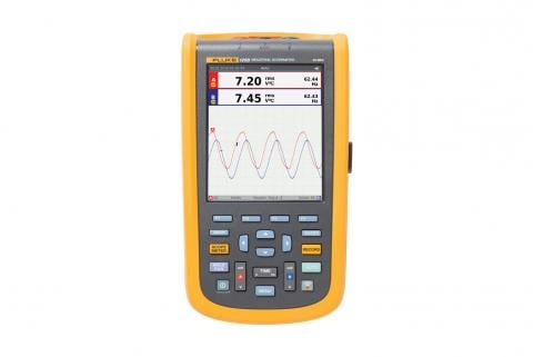 Fluke 120B Series Industrial ScopeMeter handheld Oscilloscopes