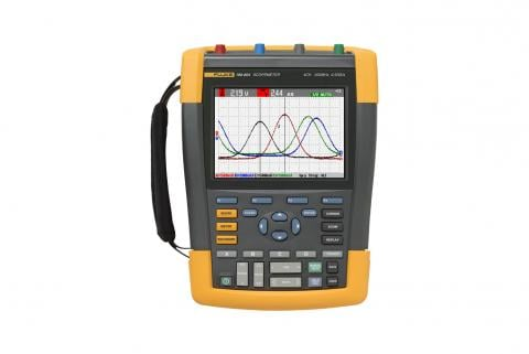 Fluke ScopeMeter 190-204/S Portable Digital Oscilloscope