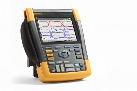 What is the relationship between oscilloscope bandwidth and waveform rise time?