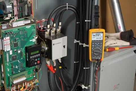 Fluke 289/FVF helps to develop high-voltage sources