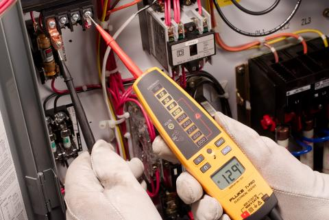 HVAC and industrial applications for the Fluke T+ and T+Pro Electrical Testers
