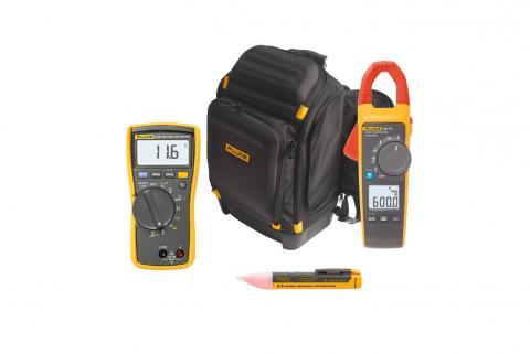 A clickable image of a Fluke 3540 FC Three-Phase Power Monitor. Leads to the product page.