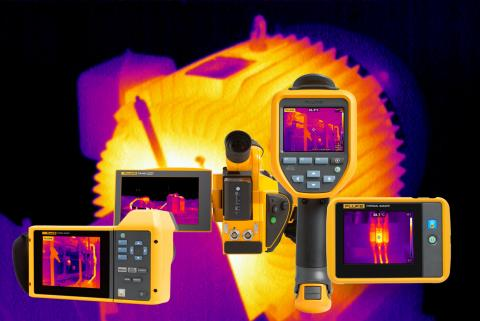 Handheld thermal cameras