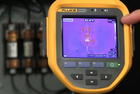 Perform a manual non-uniformity correction test with your infrared camera