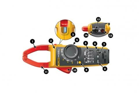 Basic features of a clamp meter