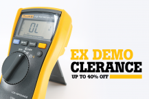 Fluke Ex Demo Sale