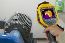 How to inspect a motor with a thermal imager