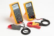 Using accessory current clamps with Fluke Digital Multimeters