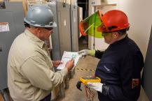 Electrician cuts time in arc flash zone in half with wireless tools