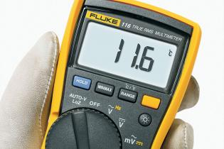 Everyday troubleshooting with the Fluke 116 DMM