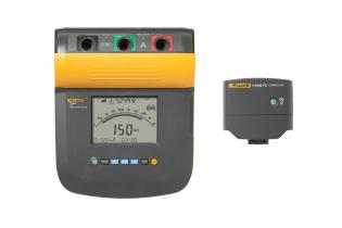 Fluke 1555 10 kV Insulation Tester with standard ir3000 FC wireless data connector