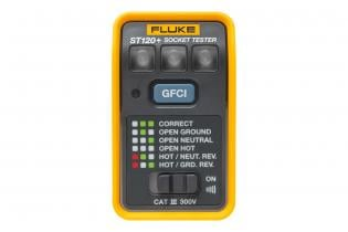 Fluke ST120+ GFCI Socket Tester with Beeper