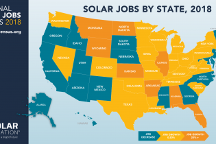 National solar jobs census 2018 chart