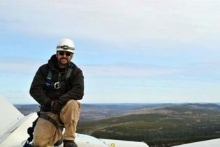 Wind park engineer goes sky high to troubleshoot