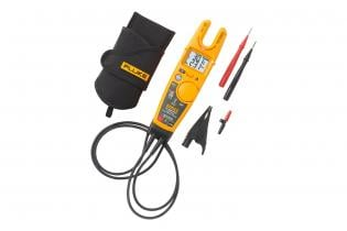 Fluke T6-1000 PRO with included grounding clip, holster