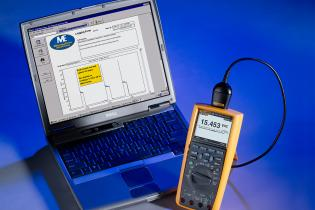 Event recording (or logging) with a Fluke 287/289 digital multimeter