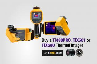 Buy a Ti480PRO, TiX501 or TiX580 Thermal Imager Get a FREE lens!
