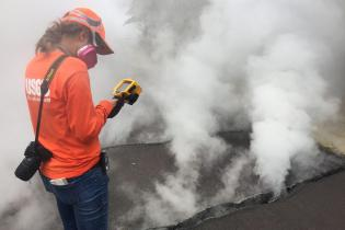 How scientist use thermal imaging to forecast changes in volcanic activity