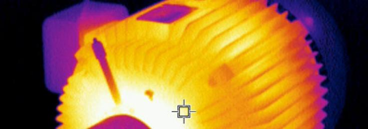 Using infrared technology to reduce electrical danger