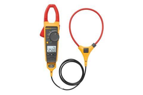 Pinza amperimétrica de CA/CC de verdadero valor eficaz con tecnología iFlex