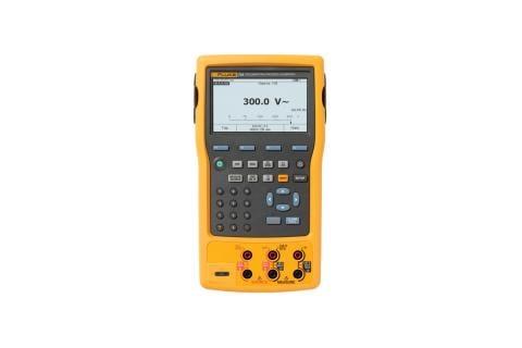 Calibrateur de process à mémoires HART Fluke754
