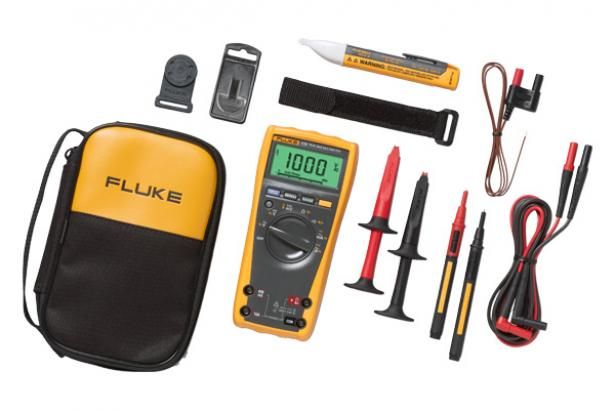 Fluke 179/1AC2 Rugged Multimeter And Non-Contact Voltage Detector Combo Kit | Fluke