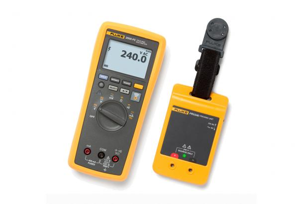 Kit Mit Digitalmultimeter Fluke 3000 FC Und Proving Unit PRV240 | Fluke