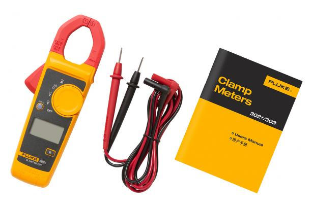 Fluke 302+ What's in the box