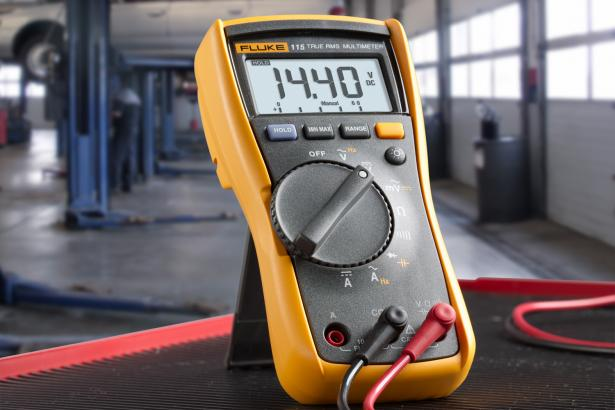 Fluke 115 DMM offers basic electrical and electronic tests