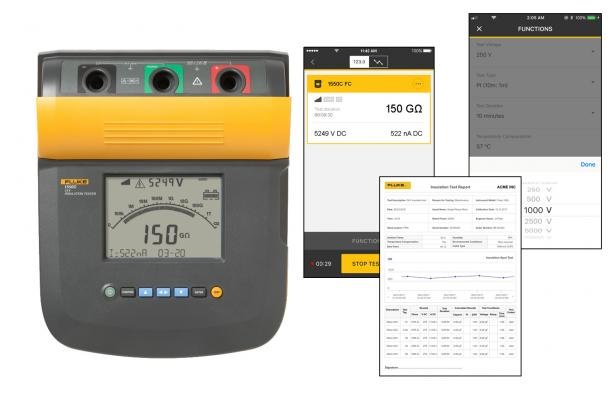 Fluke 1550C 5 KV Insulation Tester Kit | Fluke