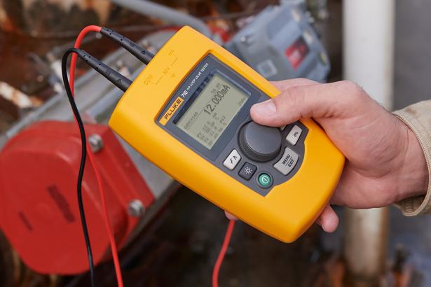 HART smart 4-20 mA control valve testing with the Fluke 710 Valve Tester