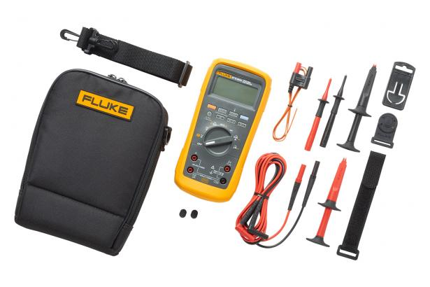 Fluke 87V MAX with heavy duty electrical accessories