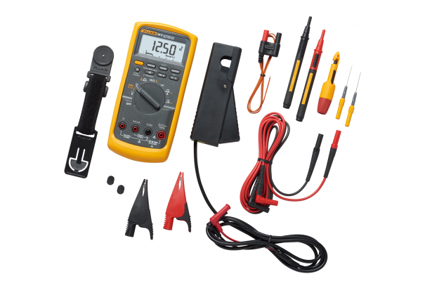 Automotive Multimeters: Fluke 88V/A Automotive Multimeter Combo Kit | Fluke
