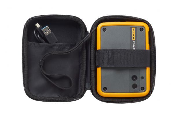 Pocket thermal imager inside soft case