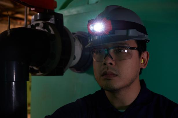Fluke HL-200 EX Intrinsically Safe Headlamp | Fluke