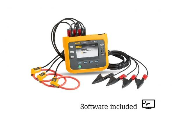 Fluke 3540 FC Three-Phase Power Monitor And Condition Monitoring Kit | Fluke