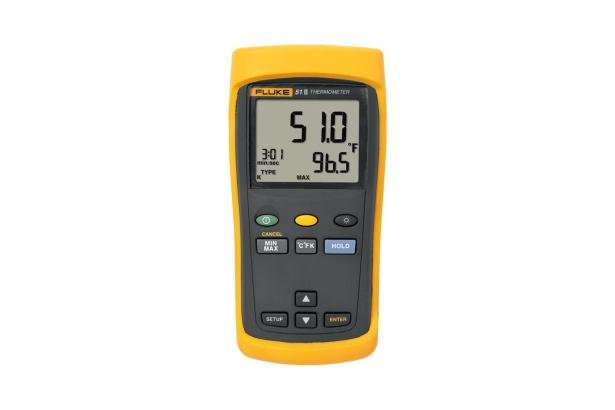 Fluke 51 II Handheld Digital Probe Thermometer | Fluke