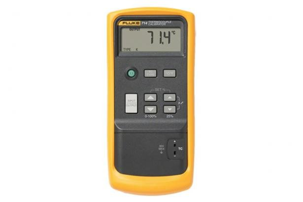 Fluke 714 Thermocouple Calibrator | Fluke