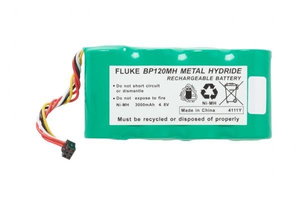 Fluke BP120MH NiMH Battery Pack For Fluke 120 Series, Fluke 43 And 43B | Fluke