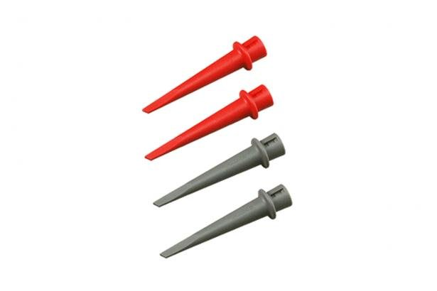 Fluke HC200 Hook Clip Set 2 Red, 2 Gray | Fluke