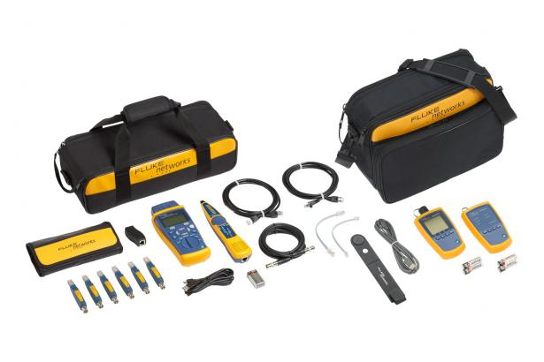 Fluke Networks CIQ-FTKSFP Copper & Fiber Cable Tester Kit