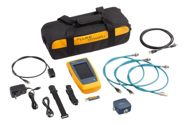 Fluke Networks LinkIQ™ Industrial Ethernet Cable+Network Tester