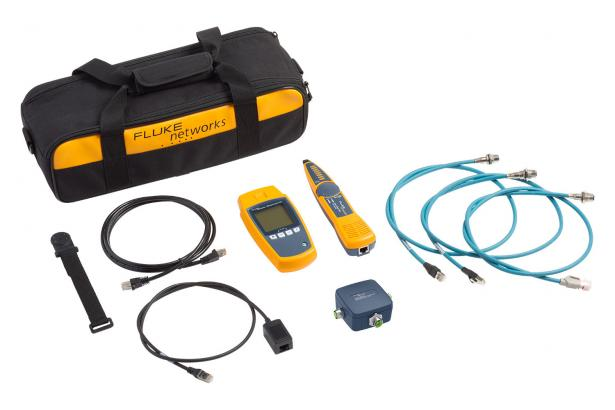 Fluke Networks MicroScanner™ PoE Industrial Ethernet Cable Verifier Kit