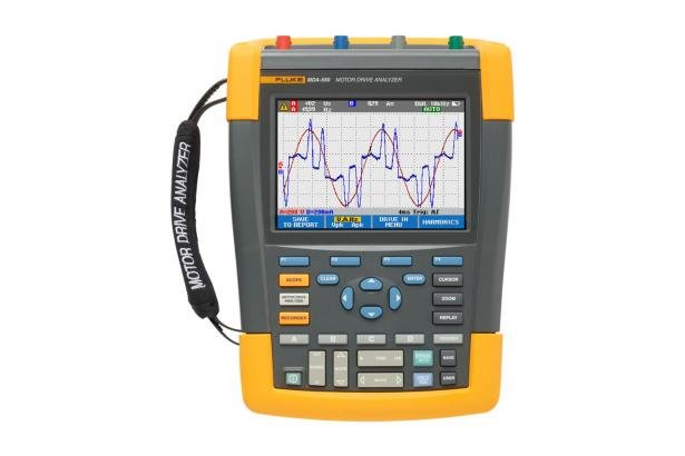 Fluke MDA-510 And MDA-550 Motor Drive Analyzers | Fluke