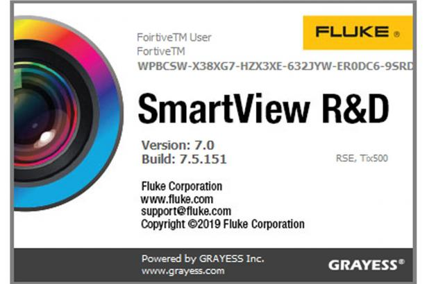 Fluke SmartView R&D Thermal Imaging Software