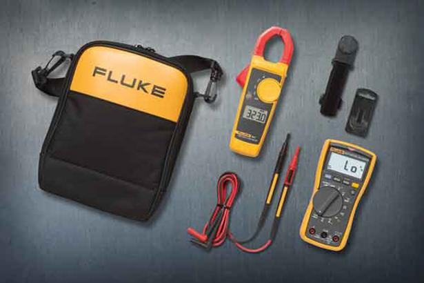 Fluke 117 And 323 Electrician's Multimeter Combo Kit | Fluke
